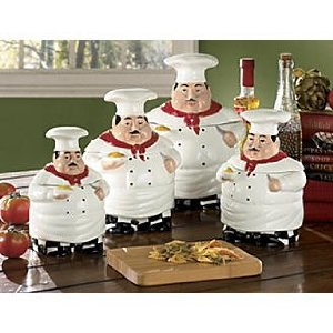 kitchen decor themes chef chef kitchen canister sets kitchen accents with a theme 740